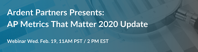 AP Metrics That Matter Transcepta 2020