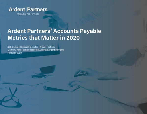 ArdentPartners-AP-Metrics-That-Matter-2020-Cover